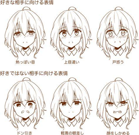 7つのポイントを意識しよう! 繊細な表情の描き方講座 イラストの描き方 表情を表す言葉から描く Drawing Subtle Facial Expressions   Illustration Tutorial