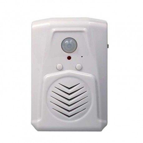Avisador Entrada De Personas Con Sonido Mp3 Voz La Voz Alarmas