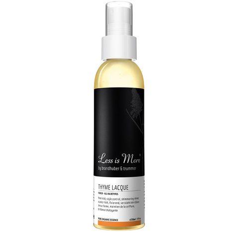 Be so pure | less is more | natuurlijke haarproducten | Thyme haarlak