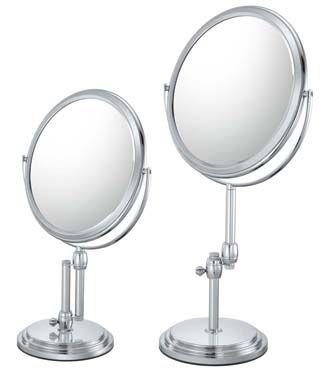Kimball Young Inc 83745 Adjustable Vanity Mirror Mirror Image Chrome Mirror Makeup Mirrors Vanity Mirror