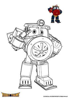 Robot Tren Boyamasi