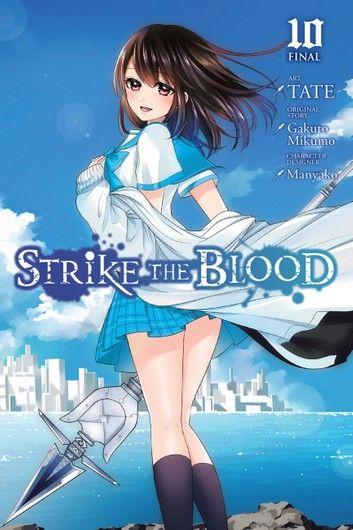 Strike The Blood Vol 10 Manga Ebook By Manyako In 2020
