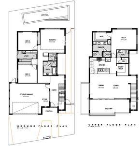 Upside Down Home Maylands Promenade Homes House Plans Australia Upside Down House House Floor Plans