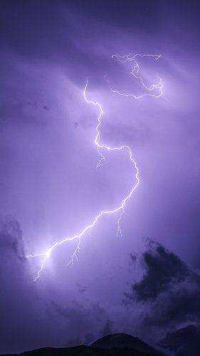Purple Lightning Tablet Wallpaper Purple Wallpaper Iphone Photo Wall Collage Phone Wallpaper Images