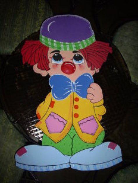 Muñecos hechos con foamy | Payasos, Manualidades, Payasitos de fomi