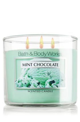 Mint Chocolate 14 5 Oz 3 Wick Candle Slatkin Co Bath