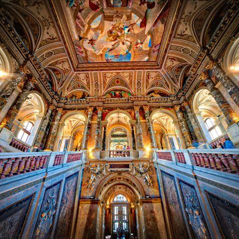 Taking in the amazing architecture and design of Vienna. #TreyRatcliff #Architecture #Vienna #Interior #HDR