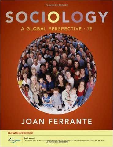 Sociology 7th Edition Joan Ferrante Testbankster Student