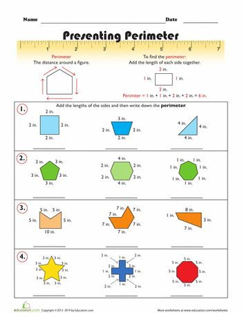 Area and Perimeter Worksheet 2 | Free worksheets, Worksheets and ...