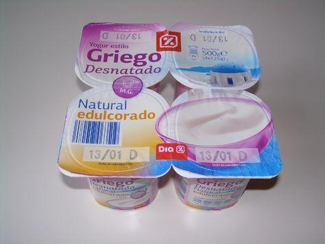 Yogur Al Estilo Griego Natural Desnatado Edulcorado Dia Muy Pocas