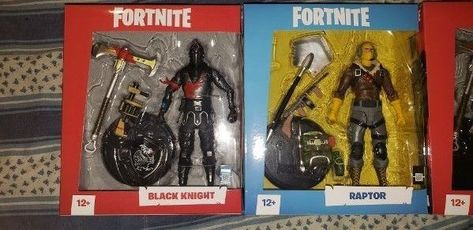 Fortnite Black Knight Mcfarlane Toys 7 Figure Free Shipping By Xmas