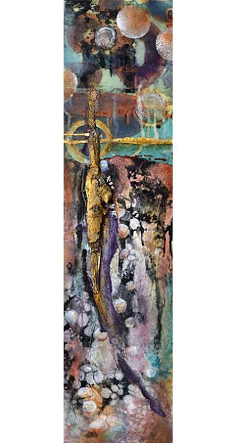 Mixed Media Artists International: Vertical Abstract Contemporary