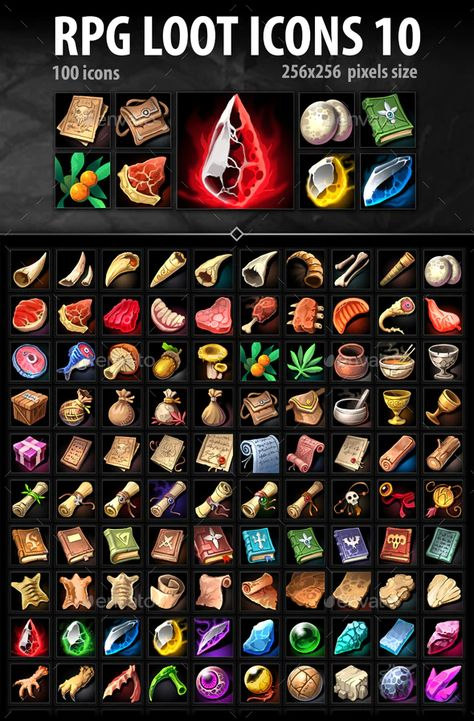 RPG Loot Icons 10