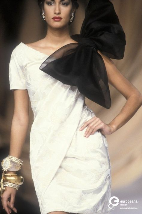 Yasmeen Ghauri for Christian Dior, Spring-Summer Couture.