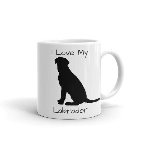I Love My Labrador Coffee Mug 11 Or 15 Ounce Dog Lover Cup Microwave Dishwasher Safe Free U S Shipping
