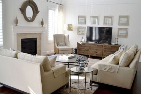 15 Living Room Furniture Layout Ideas With Fireplace To Inspire You Livingroom Layout Family Room Layout Traditional Family Rooms