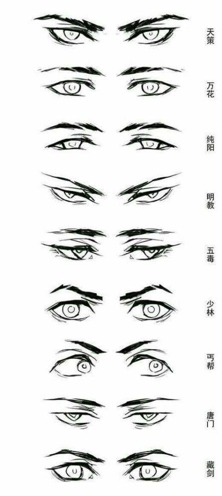 Boy Anime Eyes : anime, #EyeBaseLindaHallberg, #EyeBaseMakeUp, #EyeBaseRed, Drawing, Tutorials,, Drawing,, Anime