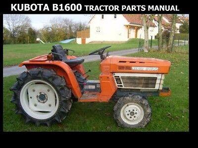 Advertisement Ebay Kubota B1600 Tractor Parts Manuals 100pg For B1600dt B 1600 Dt Service Repair In 2020 Tractors Tractor Parts Kubota