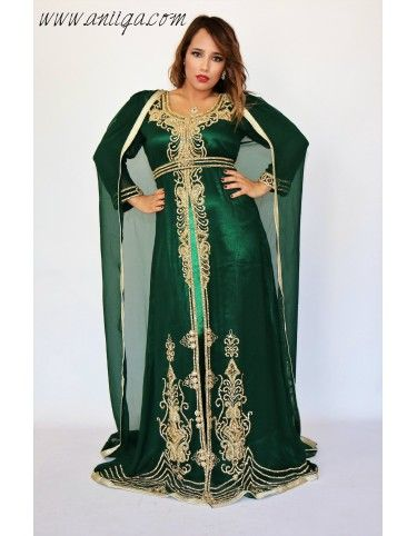 Robe de soiree dubai paris , robe orientale