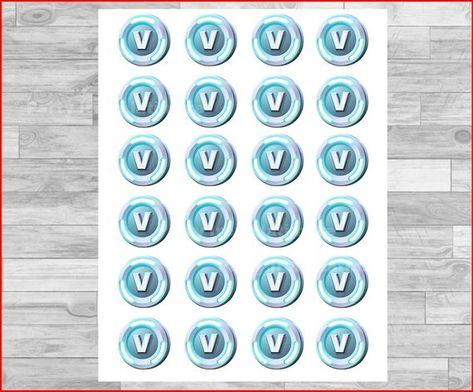 image relating to V Bucks Printable identify V Dollars Printable