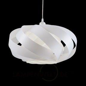 Hangeleuchte Mininest Aus Streifen Weiss 1056034 Hangeleuchte Lampen Und Leuchten Lampen