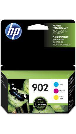 Hp 902 Cyan Magenta Yellow Original Ink Cartridges 3 Pack