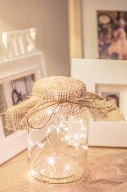 Home Projects Fairy Lights Create Your Own Copper Wire Mason Jar Fairy Light Mason Jar Fairy Lights Fairy Lights Decor