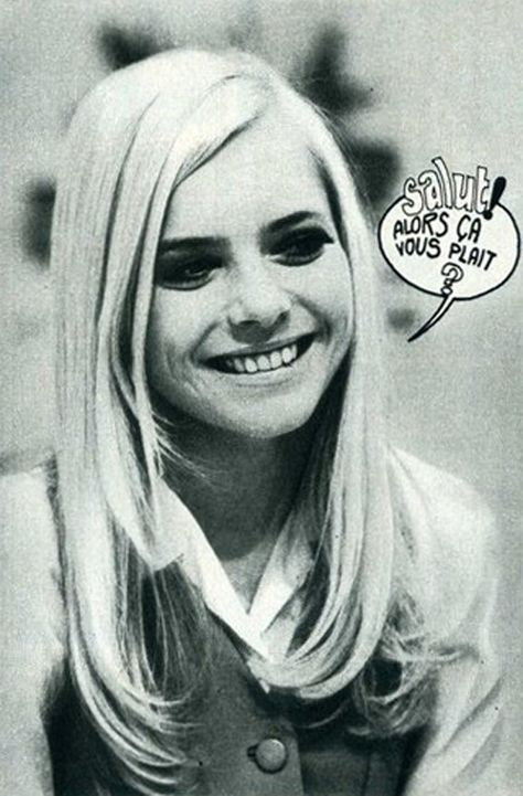 France Gall. Asking questions.