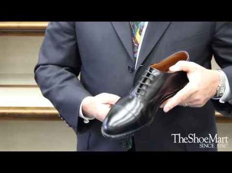 Joe Zapatka from #TheShoeMart will teach you all about the fitting properties and profile of the #Alden #Hampton Last. | www.TheShoeMart.com #AldenShoes