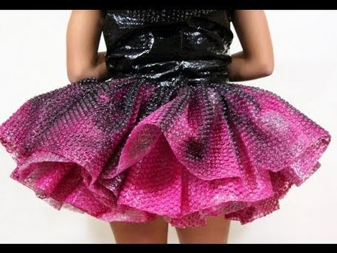 Skirt of bubble wrap dress PD