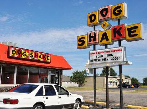 Dog n Shake - 1640 S. Hillside Wichita, KS 67211 | Travel Eats ...