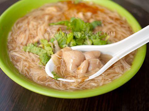 台灣的大腸蚵仔麵線  Taiwanese thin noodle