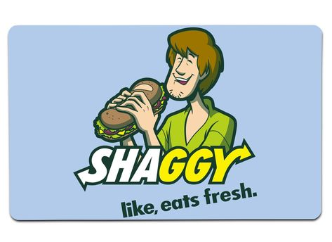 Shaggyway Large Mouse Pad - 14 x 24