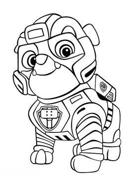 Quatang Gallery- Kids N Fun 24 Kleurplaten Van Paw Patrol Mighty Pups In 2020 Kleurplaten Eenvoudige Tekeningen Bloem Sjabloon