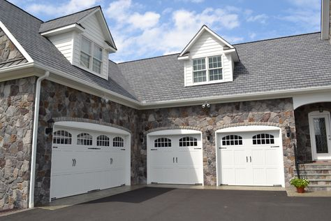 L shaped garage garage Pinterest Garage doors, House and - new blueprint for 3 car garage