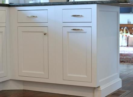 Pin By Michael Hudson On Home Kitchen In 2019 Kitchen Cabinets End Panels Kitchen Cabinets White Paneling