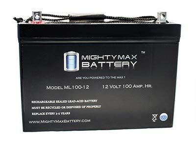 Mighty Max Battery 12v 100ah Battery For Solar Wind Deep Cycle Vrla 12v 24v 48v Brand Product Deep Cycle Battery Solar Charger Solar