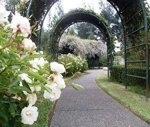 Taman Bunga Nusantara Website