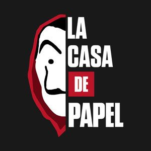 Logo La Casa De Papel Las Casas De Papel Sobres De Papel Casa De Papel