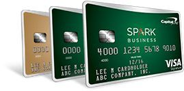 Spark Business Credit Cards Capital One Business Credit Cards