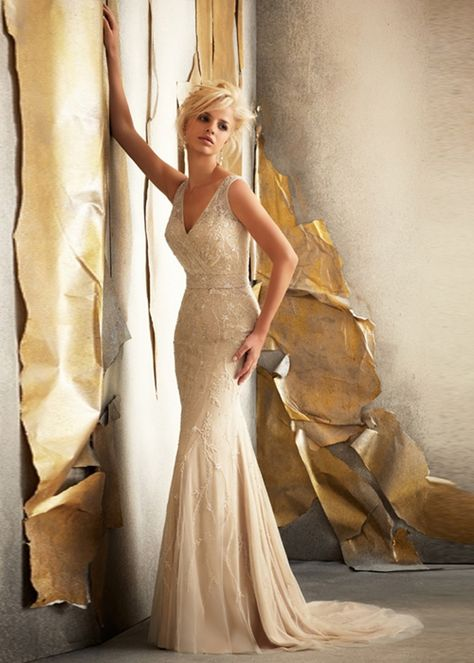 50+ Great Gatsby Inspired Wedding Dresses Fashionably Yours -- Abigail – The Knot