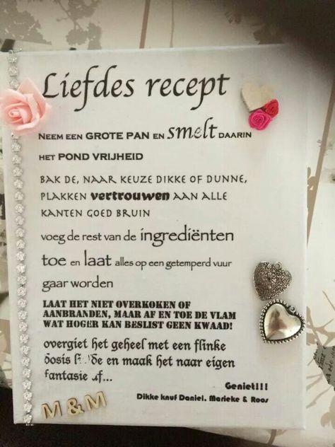 Liefdes Recept Citaten