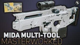 Mida Multi-Tool Masterwork | Destiny 2 Exotic Catalyst