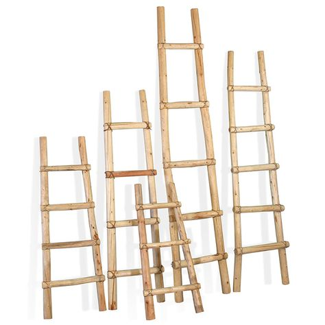 Southwest Kiva Ladders - Rustic Log Blanket Ladders - 5 Sizes