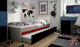 أحدث تصاميم غرف نوم شبابية 2021 غرف نوم شبابيه من ايكيا Bed Furniture Design