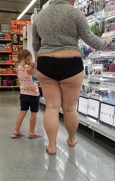 Chubby Milf Upskirt Walmart 1