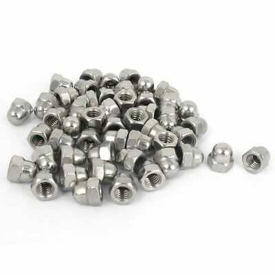 Sponsored Ebay 1 4 20 Stainless Steel Dome Head Cap Acorn Hex Nuts Silver Tone 50pcs Silver Hex Nut Silver Tone