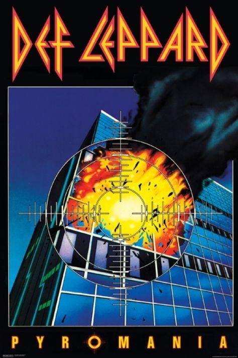 Def Leppard - Pyromania Poster Print (24 X 36)