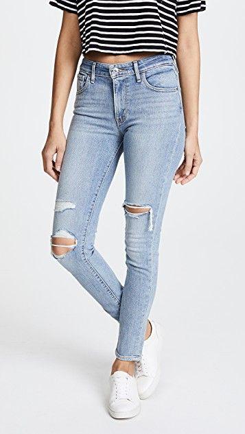 Levi's Women's Skinny Jeans 721 High Rise Skinny  RRP £85
