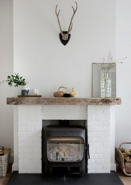 A Perfect Mantel  - A Creative Director's Dreamy Modern Farmhouse - Photos